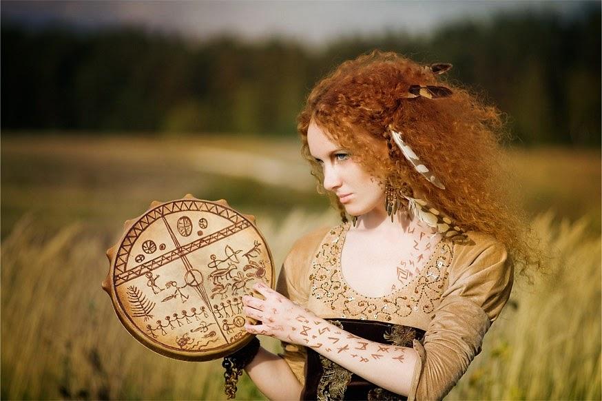 Shamanic woman