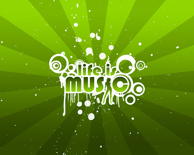 wallpapers and backgrounds music - Life is Music