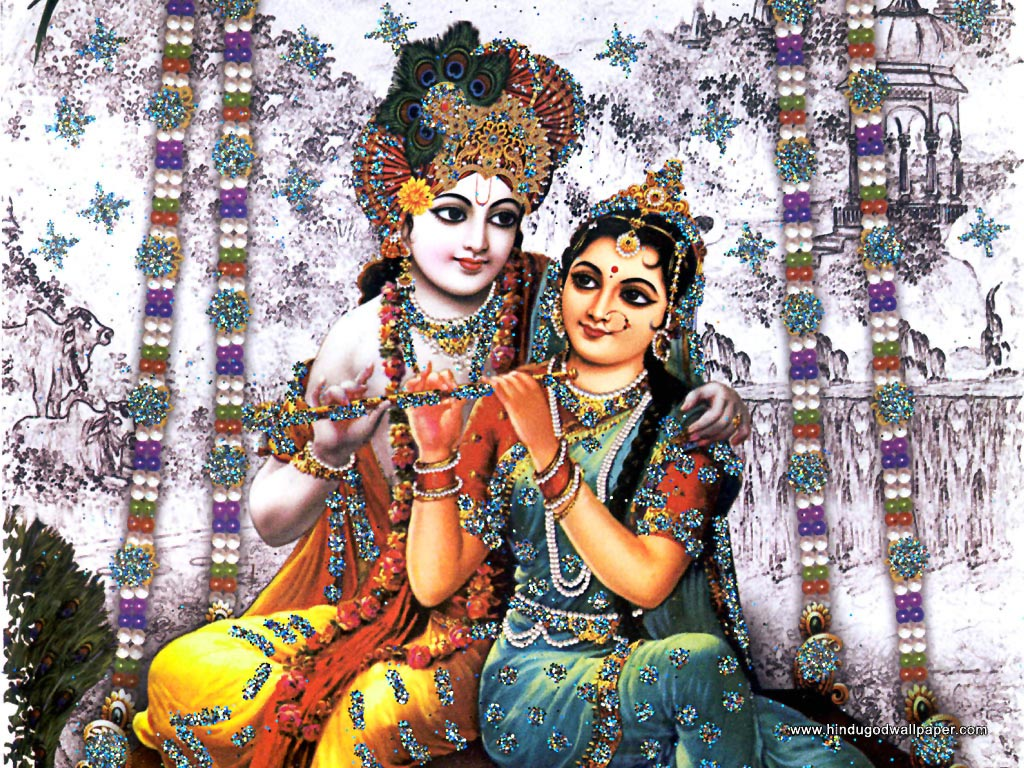 Hd wallpaper krishna and radha - Radha Krishna Still Photo Image Wallpaper Picture