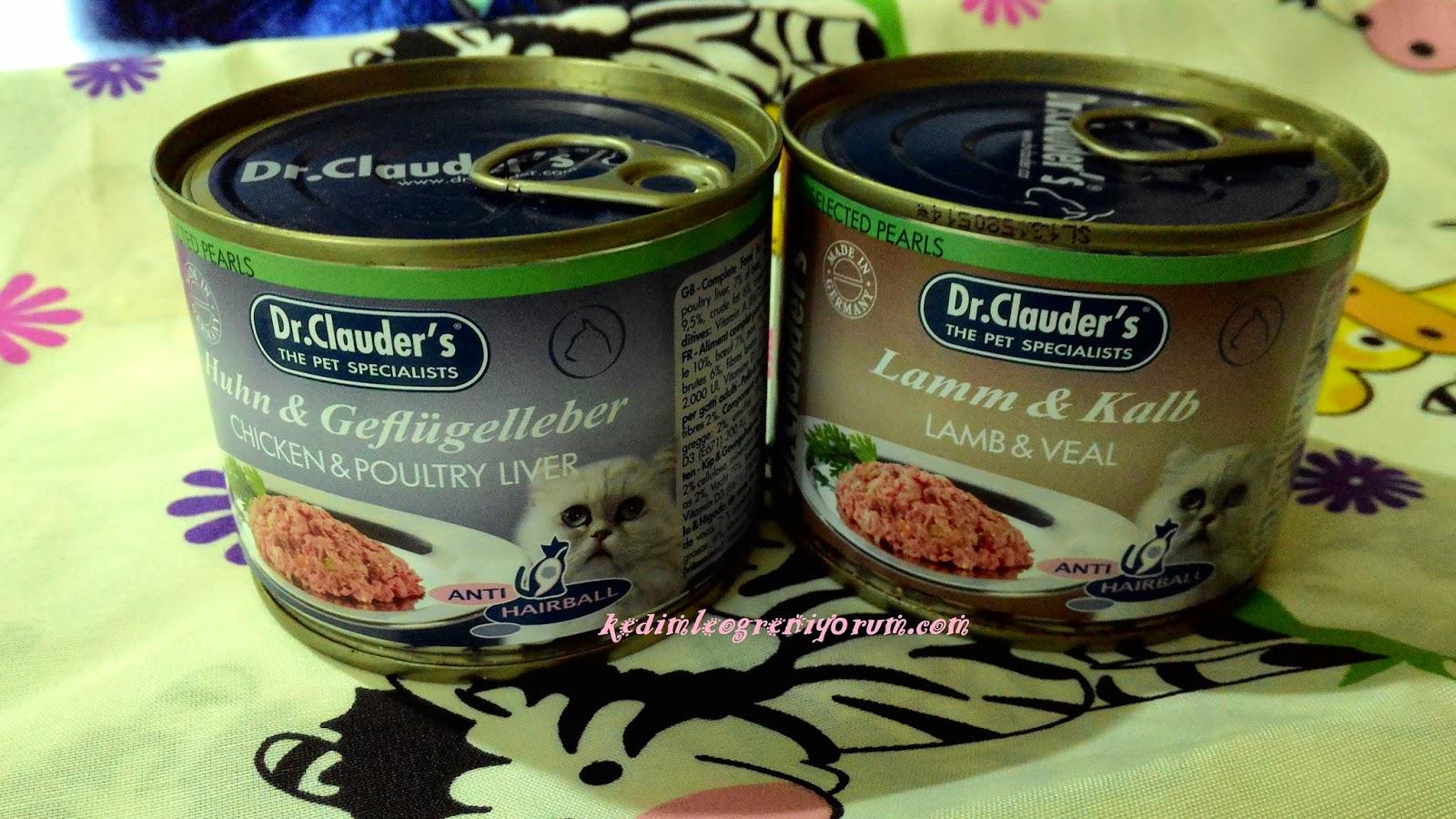 Dr.Clauder's Tüy Yumağı Önleyici Yaş Mamaları