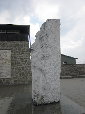 Karbyshev Monument, Mauthausen Concentration Camp, Austria / Souvenir Chronicles