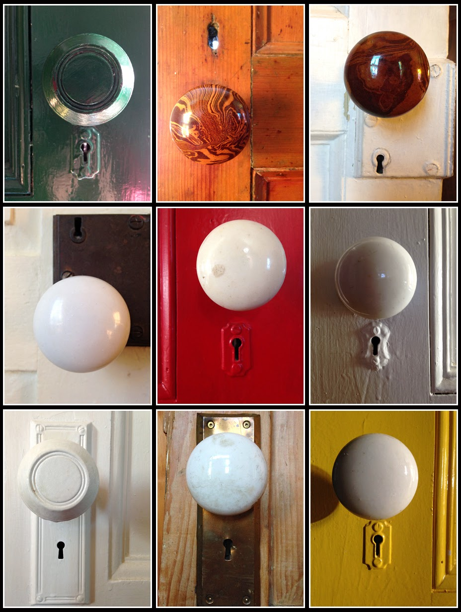 Nova Scotia; Door; Knobs