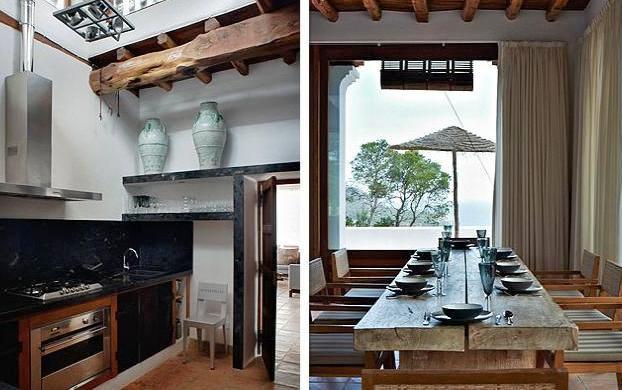 mesa comedor exotica madera natural