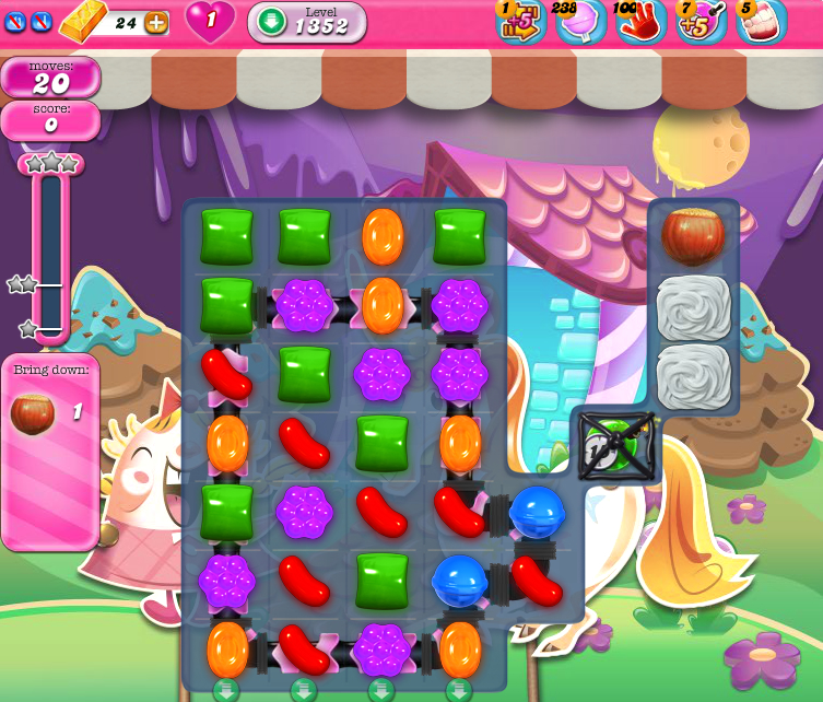 Candy Crush Saga 1352