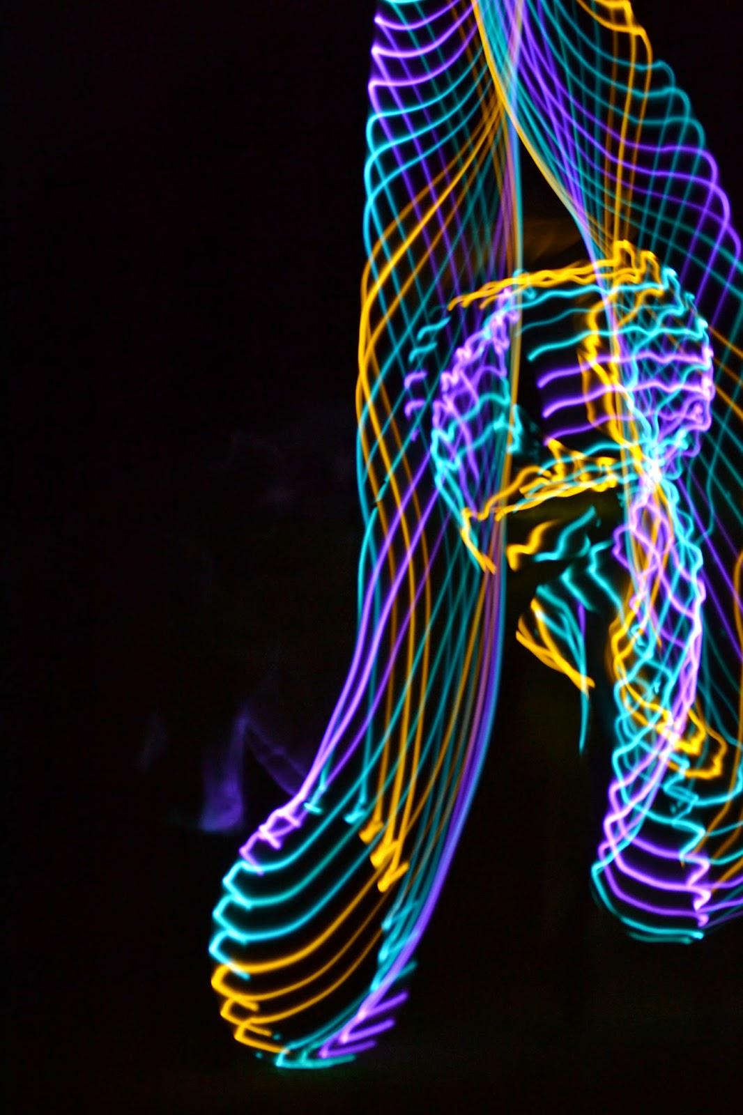 LED Hula Hoop Wiggles