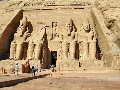 تعامد الشمس معبد سمبل