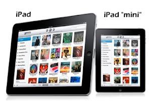 iPad Mini akan diluncurkan Tanggal 17 Oktober 2012