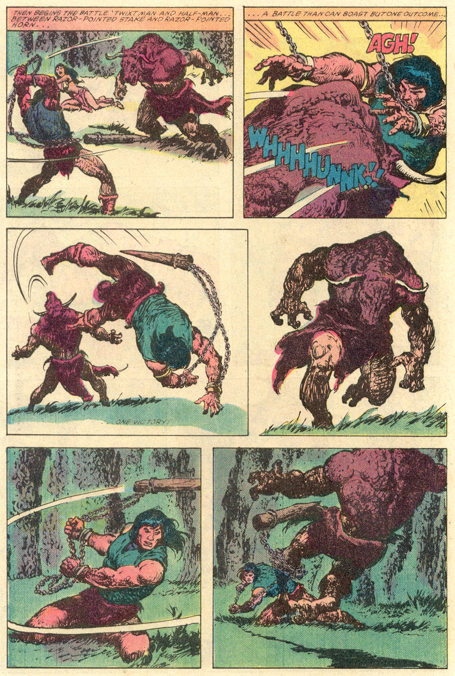 Conan the Barbarian (1970) Issue #142 #154 - English 21
