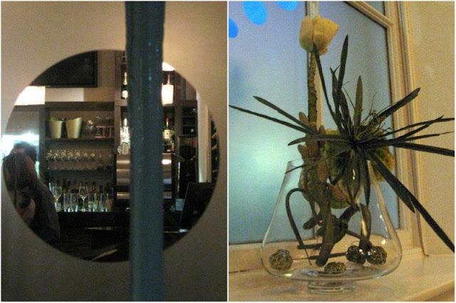 Comedor del Restaurante Fusion Bar Bistro en Aberdeen, Escocia.