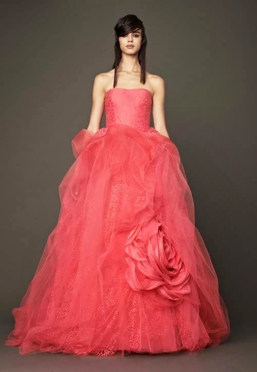 2014 Fall wedding dress collection by Vera Wang