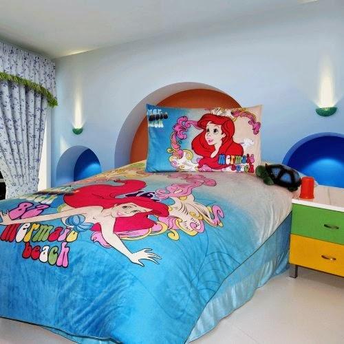 bedroom decor ideas and designs top ten disney 39 s the little mermaid
