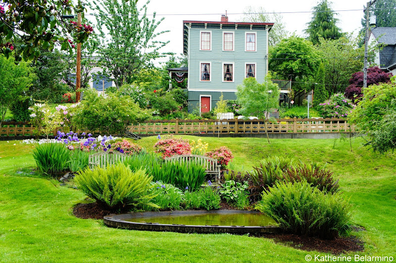 Flavel House Museum Garden Astoria Oregon