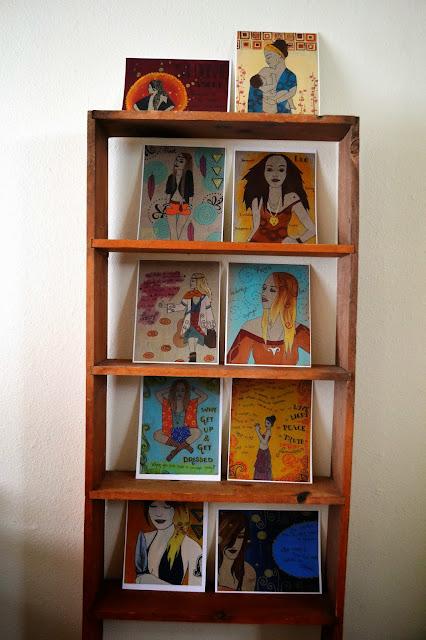 boho paintings