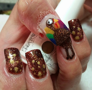 turkey nails