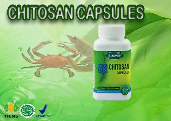 TIENS Chitin Chitosan Capsules, Kapsul Penurun Berat Badan Dan Pelancar Metabolisme