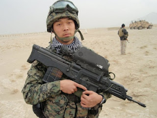 K 11 Gun ... Defense Review: South Korean K11 Dual- Caliber Air-Burst Assault Rifle