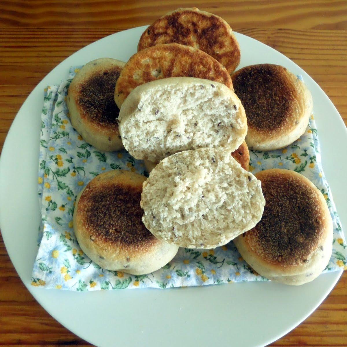 Multigrain English Muffins (Sourdough) | Joybee, What's for Dinner?
