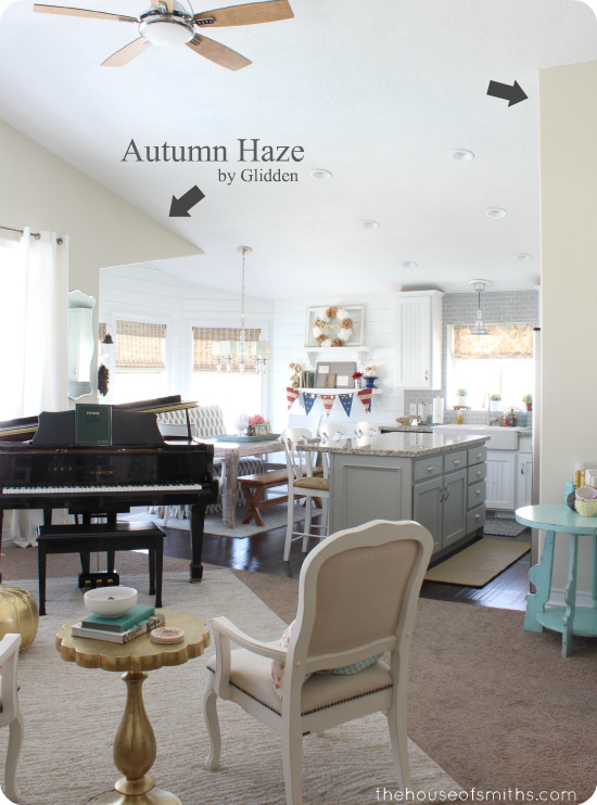 Autumn Haze Paint by Glidden - thehouseofsmiths.com