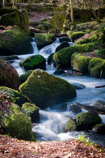 Kennall Vale Waterfall