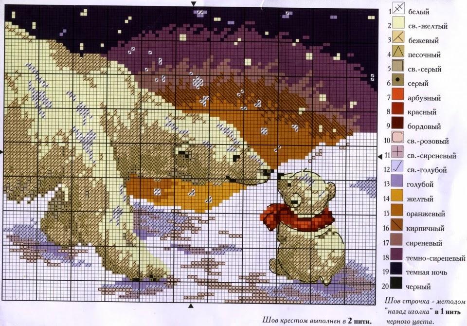 Hobby lavori femminili ricamo uncinetto maglia - Schemi animali stampabili ...