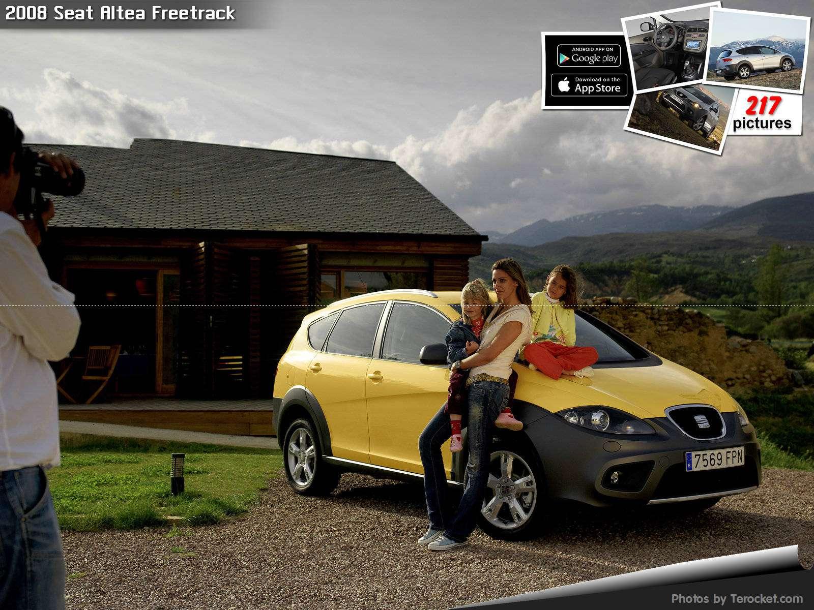 Hình ảnh xe ô tô Seat Altea Freetrack 2008 & nội ngoại thất