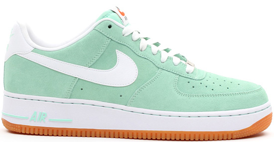 Air Force 1 Suede Green