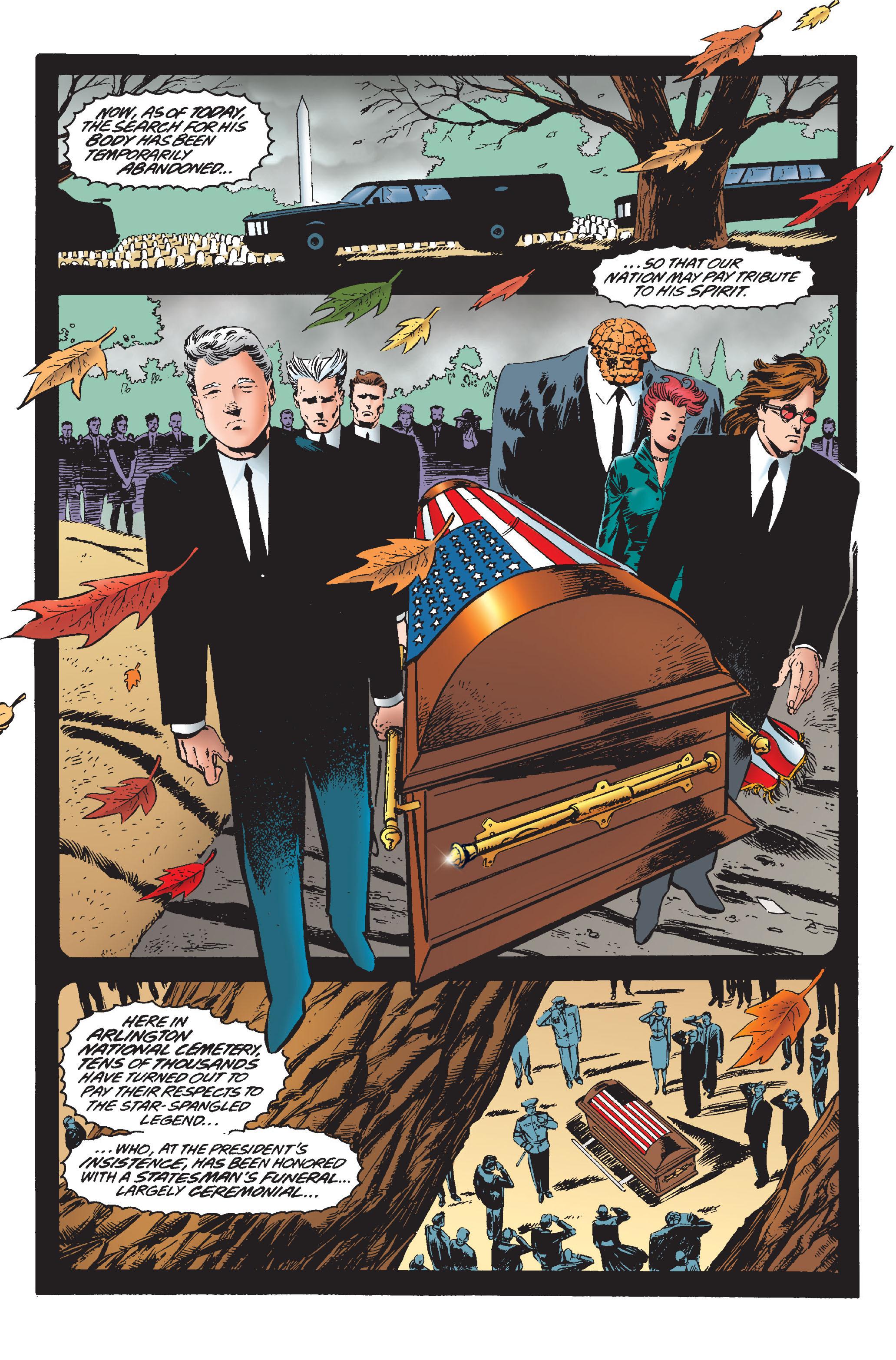 Captain America (1968) Issue #445 #399 - English 3