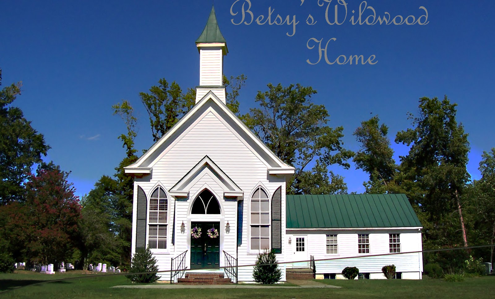 A Pretty Church I Stopped To Take Look At In King William County Virginia