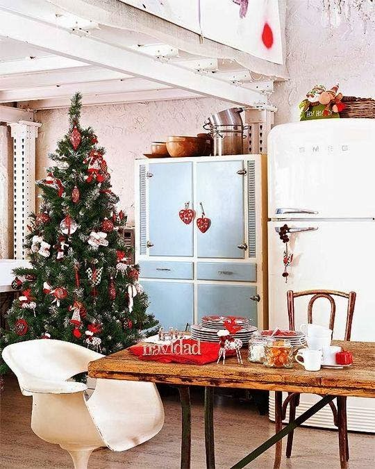 Kitchen Decorating Ideas Christmas: Shabby In Love: Christmas Kitchen Decor Ideas