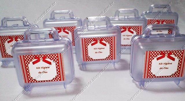 maletinhas de acrilico personalizadas - lembrancinhas porto alegre