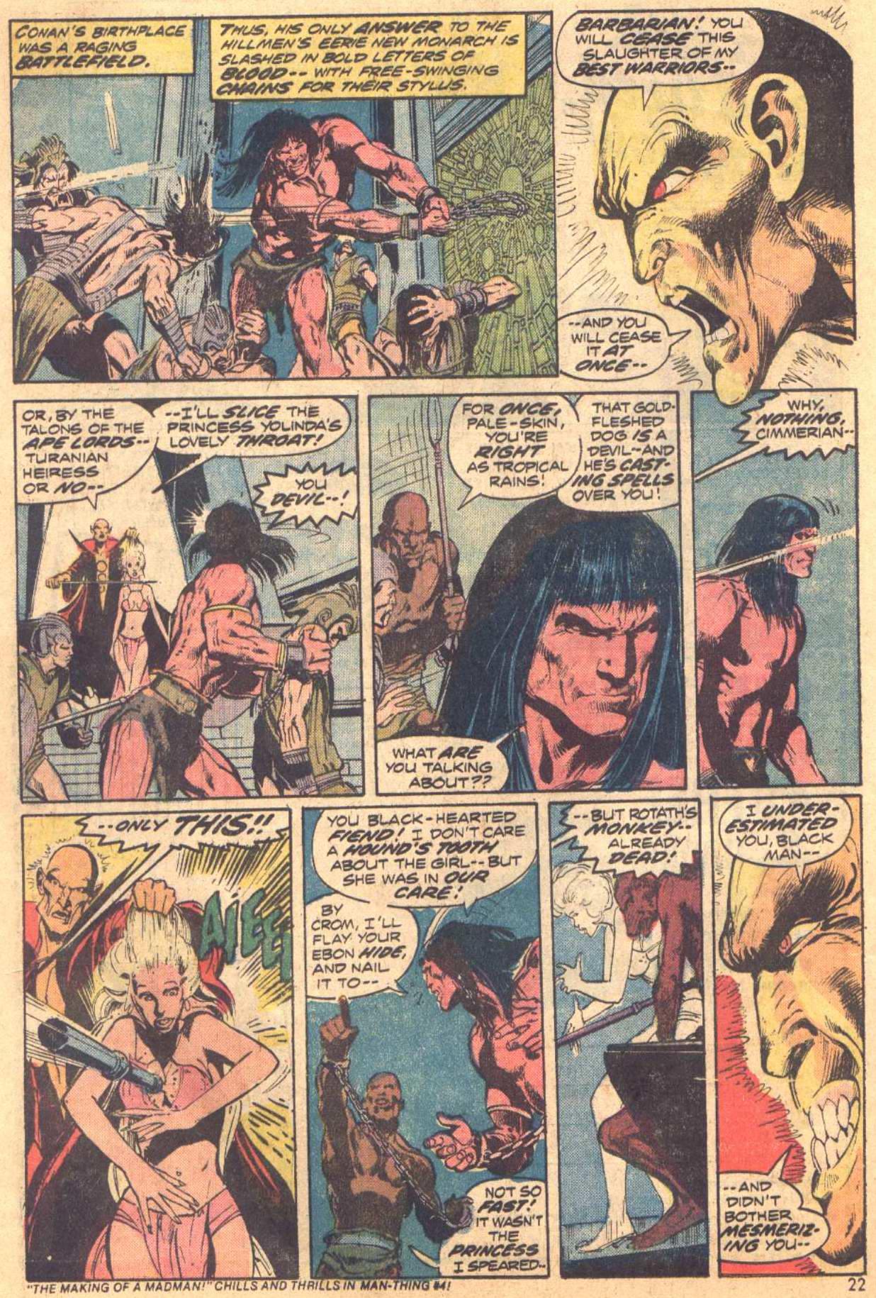 Conan the Barbarian (1970) Issue #37 #49 - English 14