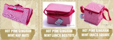 Hot Pink Gingham Mint products