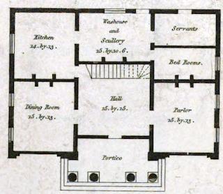 19th Century Historical Tidbits 1835 House Plans