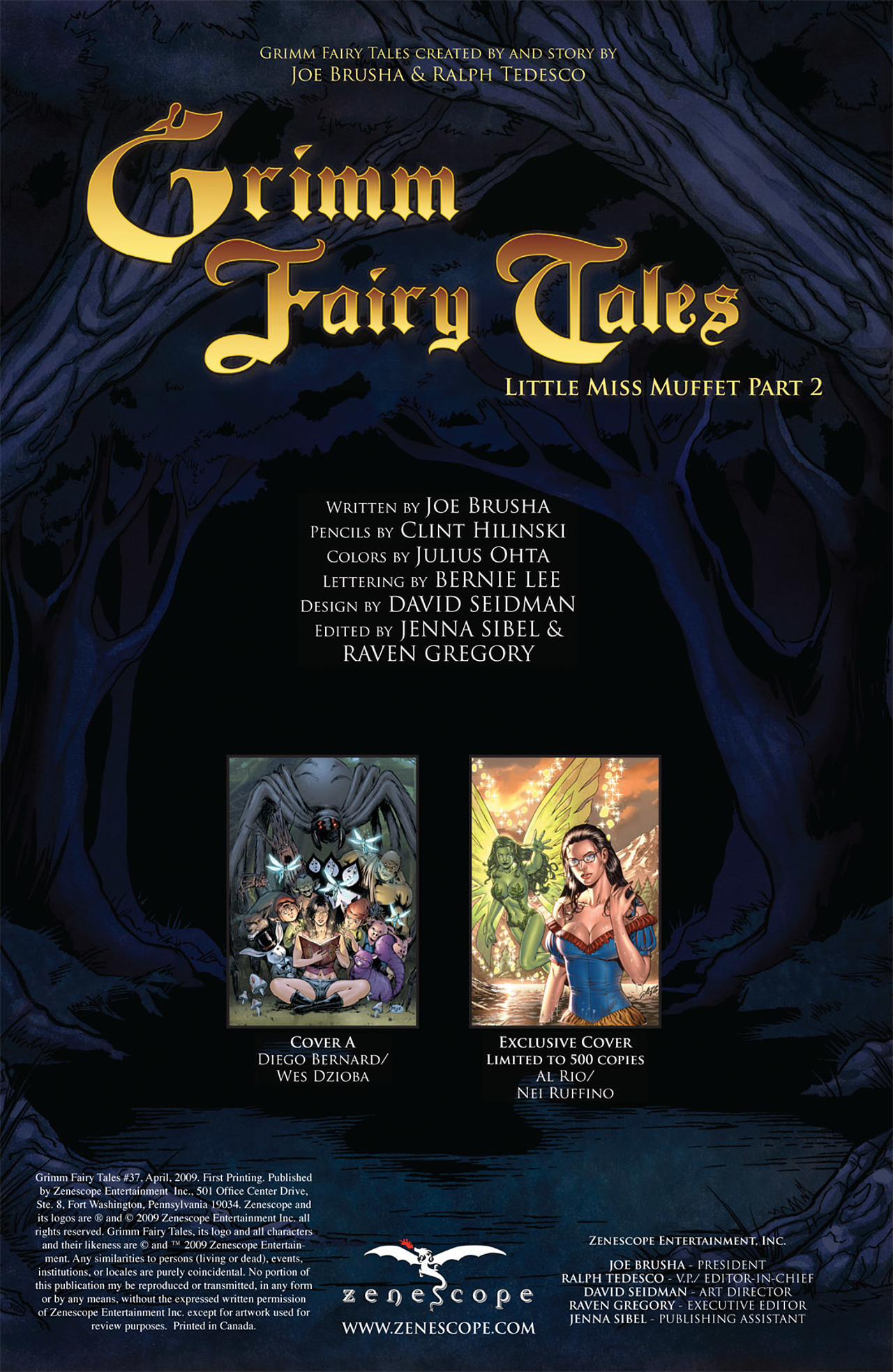 Grimm Fairy Tales (2005) Issue #37 #40 - English 2