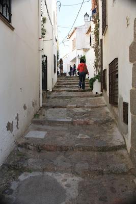 Calella de Palafrugell in La Costa Brava