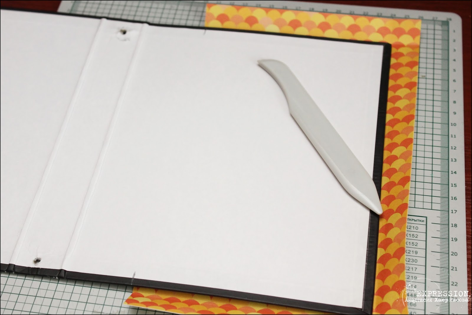 Как сделать тетрадь на кольцах фото 798