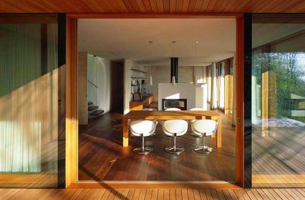 edificio diseño solar pasivo casa ecológica