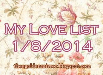 golden list love appreciation