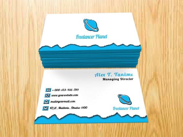 RESPONSIVE TORN CARD