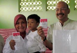 Di TPS Rustri, Prabowo-Hatta Menang