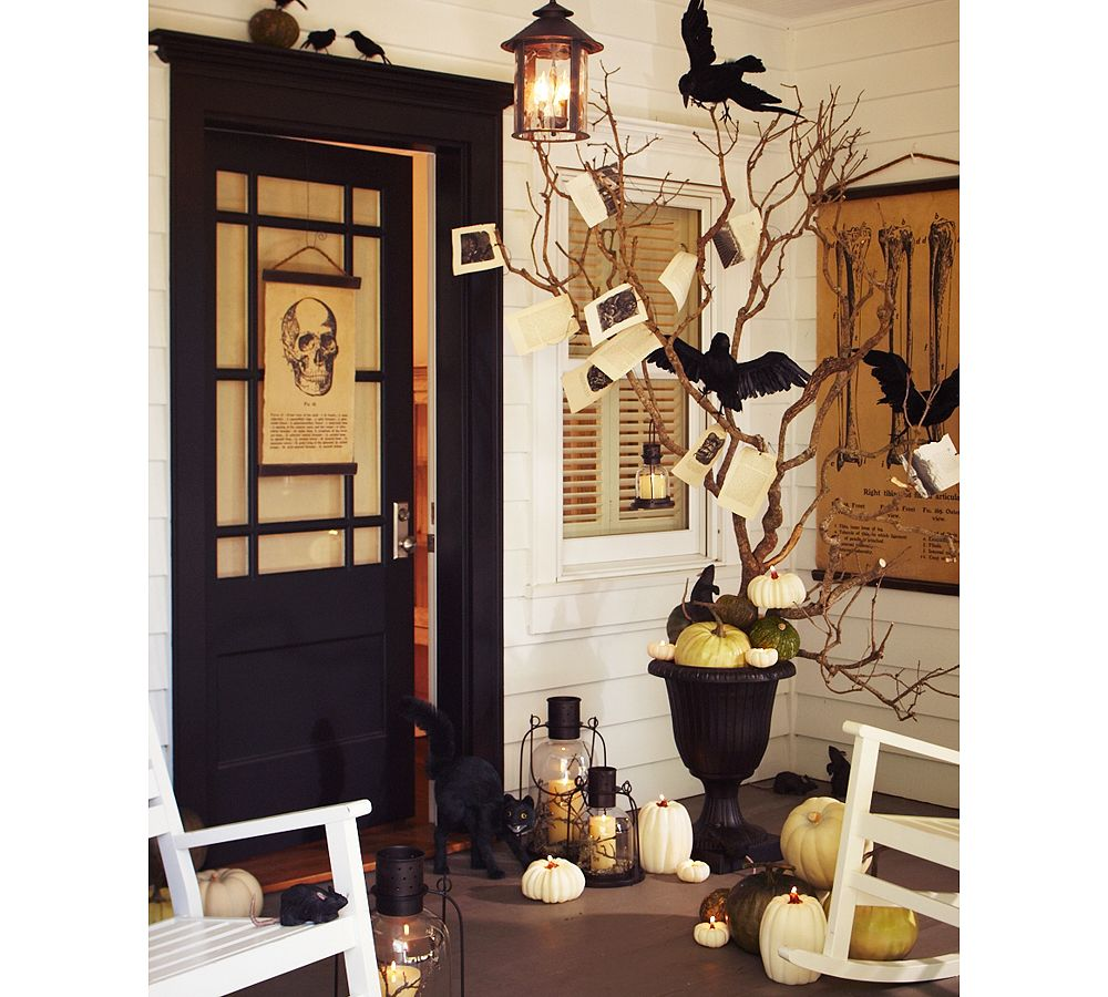 Decorating Ideas > Lizz The Fabulizer Halloween Will Soon Be Here  ~ 062849_Halloween Door Entrance