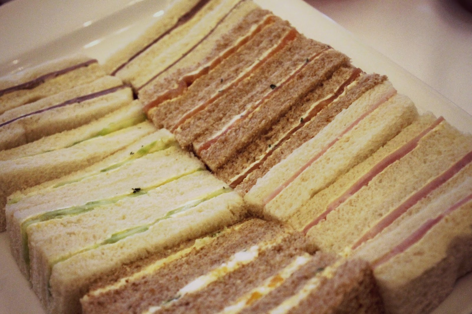 Afternoon tea finger sandwiches cedar court grand york