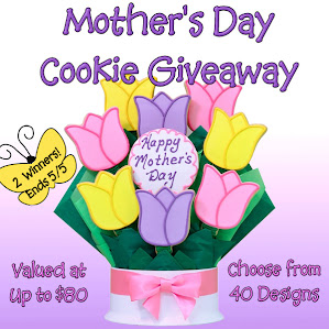 ♥Mother's Day Cookie Giveaway - 2 Winners!