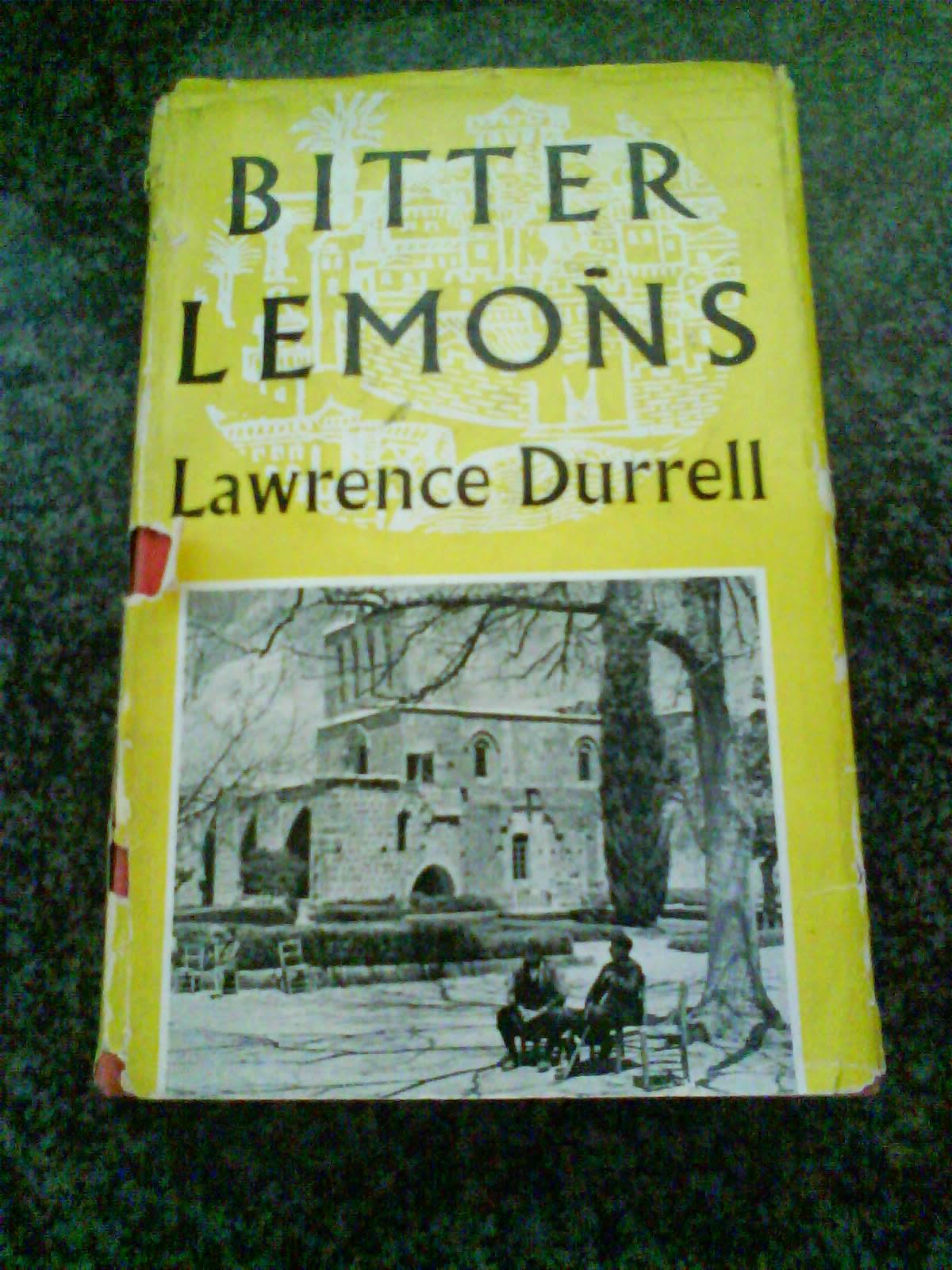 """Lawrence Durrell's """"Bitter Lemons"""""""