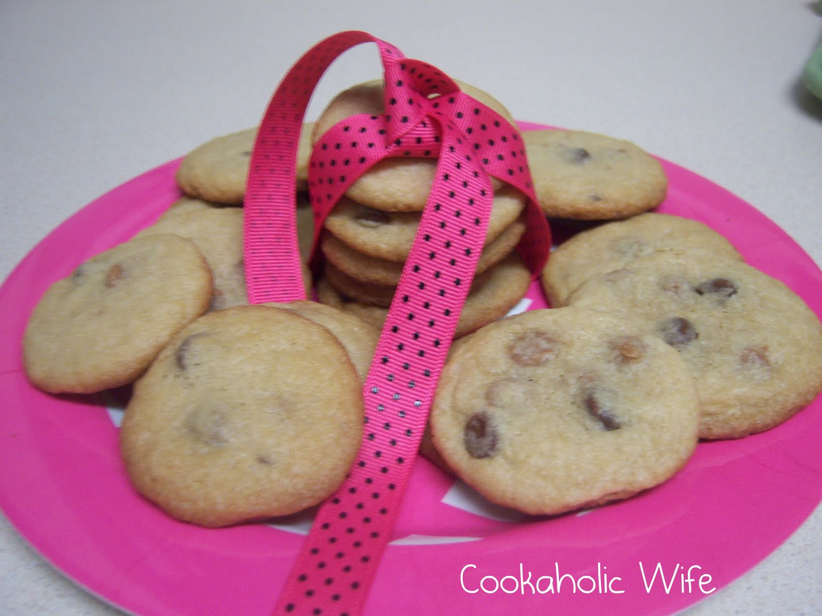Hurricane Cookies: Peanut Butter Chocolate Chip - Cookaholic Wife