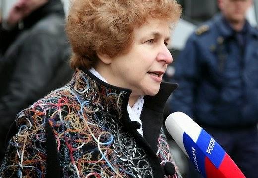 Latvia Euro-MP Tatiana Zhdanok