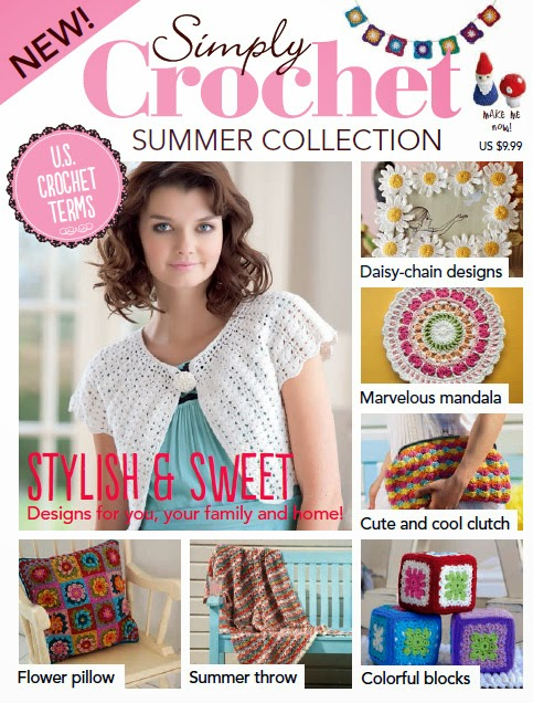 Just Crochet Magazine : issue of the US version of Simply Crochet magazine. It has 45 crochet ...