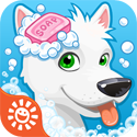 Sunnyville Pet Salon – Pet Hair Cut & Style Game App iTunes App Icon Logo By Sunstorm Interactive - FreeApps.ws
