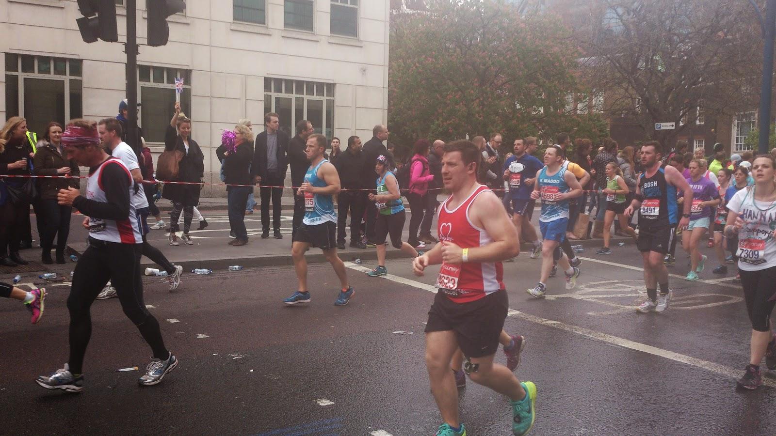 Virgin Money London Marathon 2015