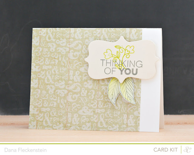 Studio Calico Antiquary Kit thinking of you card by @pixnglue